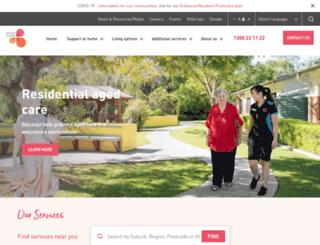 rallyhomecare.com.au screenshot