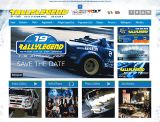 rallylegend.com screenshot