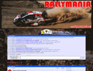 rallymania.forumfree.it screenshot