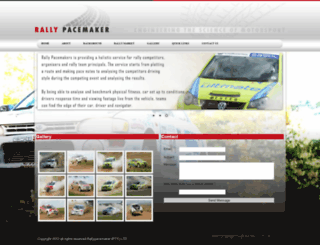 rallypacemaker.co.za screenshot