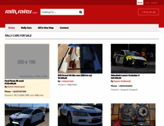rallysales.com screenshot