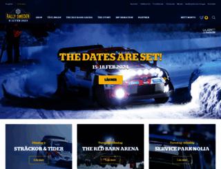 rallysweden.com screenshot