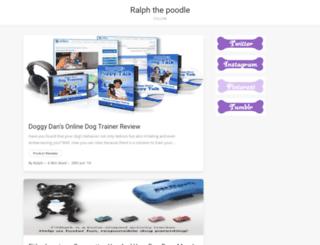 ralphthepoodle.com screenshot