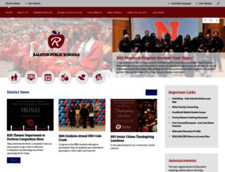 ralstonschools.org screenshot