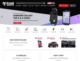 ram-mount.com screenshot