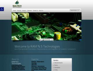 ram-tech.co.il screenshot