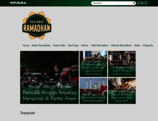 ramadhan.republika.co.id screenshot