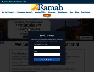 ramahinternational.org screenshot
