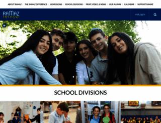 ramaz.org screenshot
