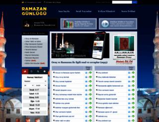 ramazan.dinimizislam.com screenshot