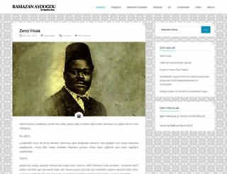 ramazanaydogdu.com screenshot