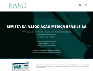 ramb.amb.org.br screenshot