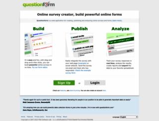 rambalducci1.questionform.com screenshot