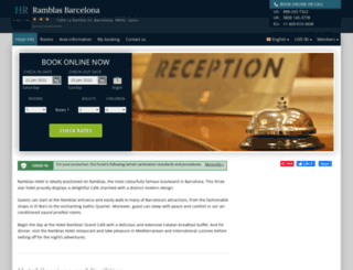 ramblas-hotel-barcelona.h-rez.com screenshot