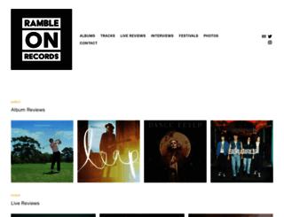 rambleonrecords.co.uk screenshot