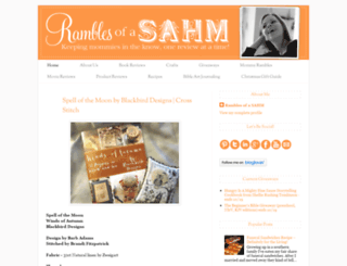 ramblesahm.com screenshot