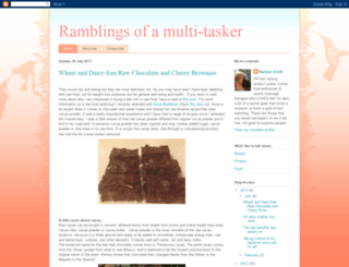 ramblingsofamulti-tasker.blogspot.com screenshot
