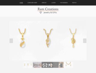 ramcreations.com screenshot