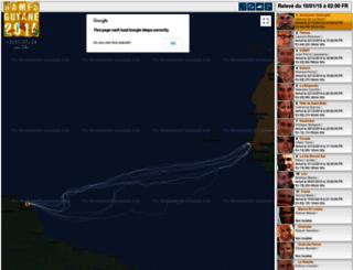 ramesguyane.geovoile.com screenshot