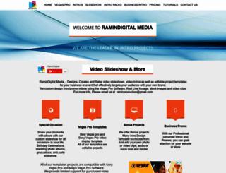 ramindigital.com screenshot