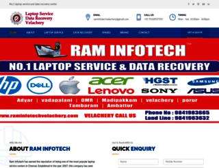 raminfotechvelachery.com screenshot