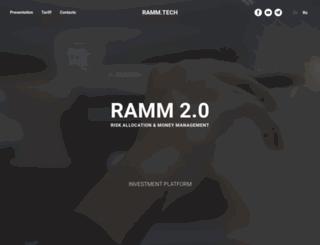 rammfx.com screenshot