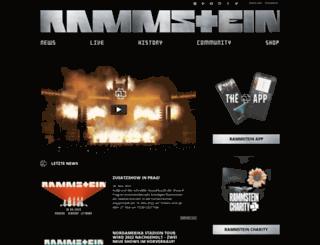 rammstein.net screenshot