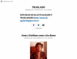 ramondeaguilar.blogia.com screenshot