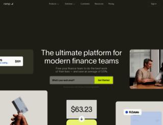 ramp.com screenshot