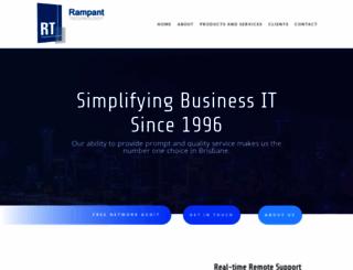 rampant.com.au screenshot