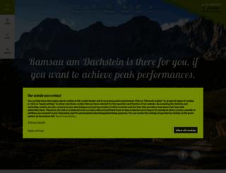 ramsau.com screenshot