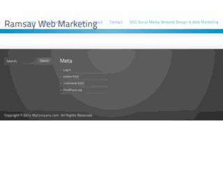 ramsaywebmarketing.com screenshot
