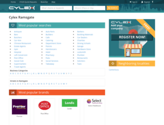 ramsgate-thanet.cylex-uk.co.uk screenshot