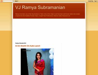 ramyavj.blogspot.in screenshot