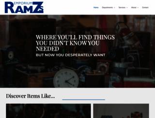 ramzs.net screenshot