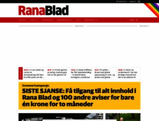 ranablad.no screenshot