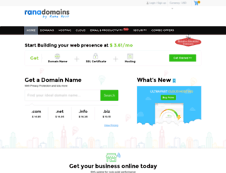 ranadomains.com screenshot