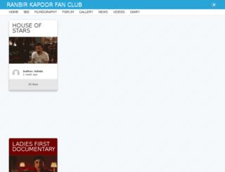 ranbirkapoor.net screenshot