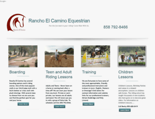 ranchoelcamino.com screenshot