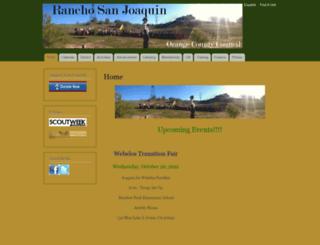ranchosanjoaquin.ocbsa.org screenshot