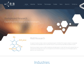randbresearch.co.uk screenshot