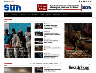 randburgsun.co.za screenshot