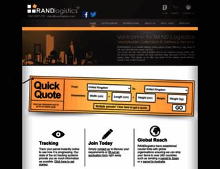 randlogistics.com screenshot