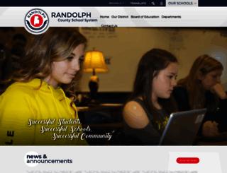 randolph.k12.al.us screenshot