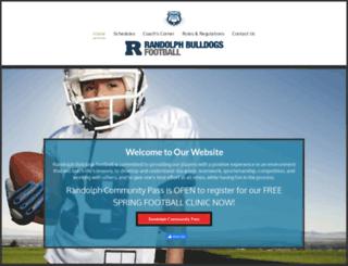 randolphbulldogs.org screenshot