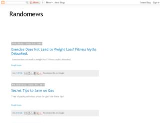 randomews.blogspot.com screenshot