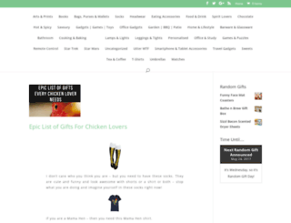 randomgiftoftheweek.com screenshot