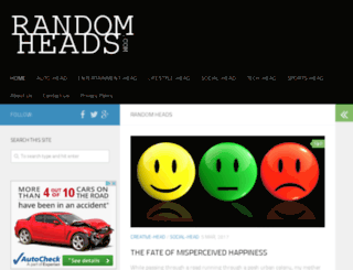 randomheads.com screenshot