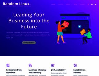 randomlinux.com screenshot