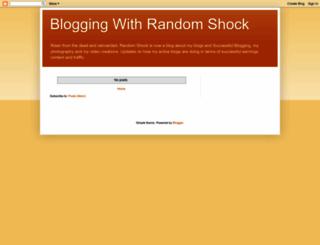 randomshock.blogspot.com screenshot